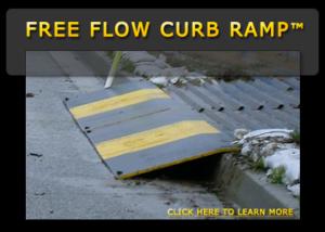 Free Flow Curb Ramp